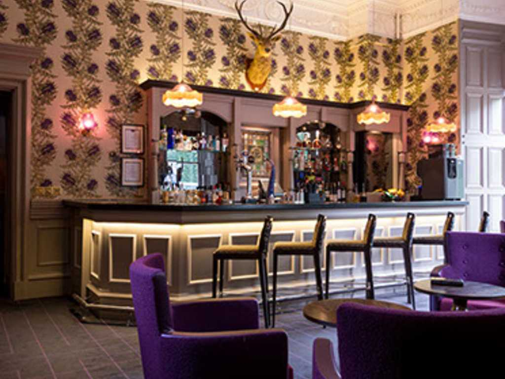 Soapies Lounge restaurant, Aberdeen Ardoe House Hotel and Spa