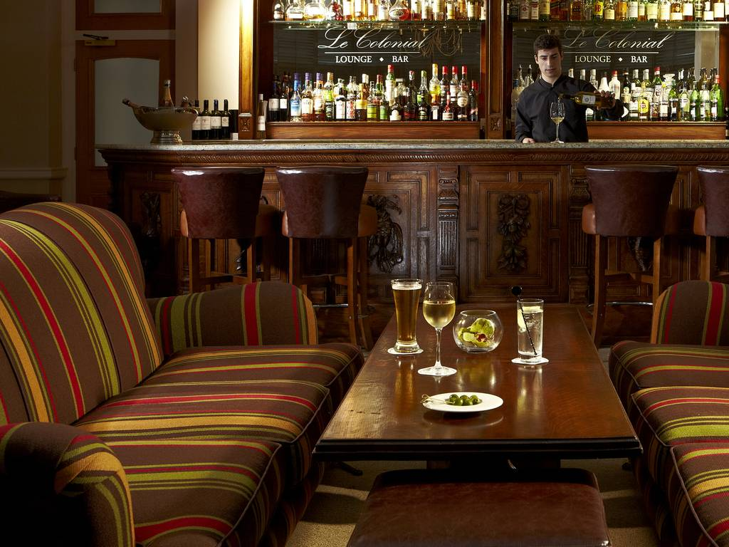 Le Colonial Lounge & Bar restaurant, Brockencote Hall