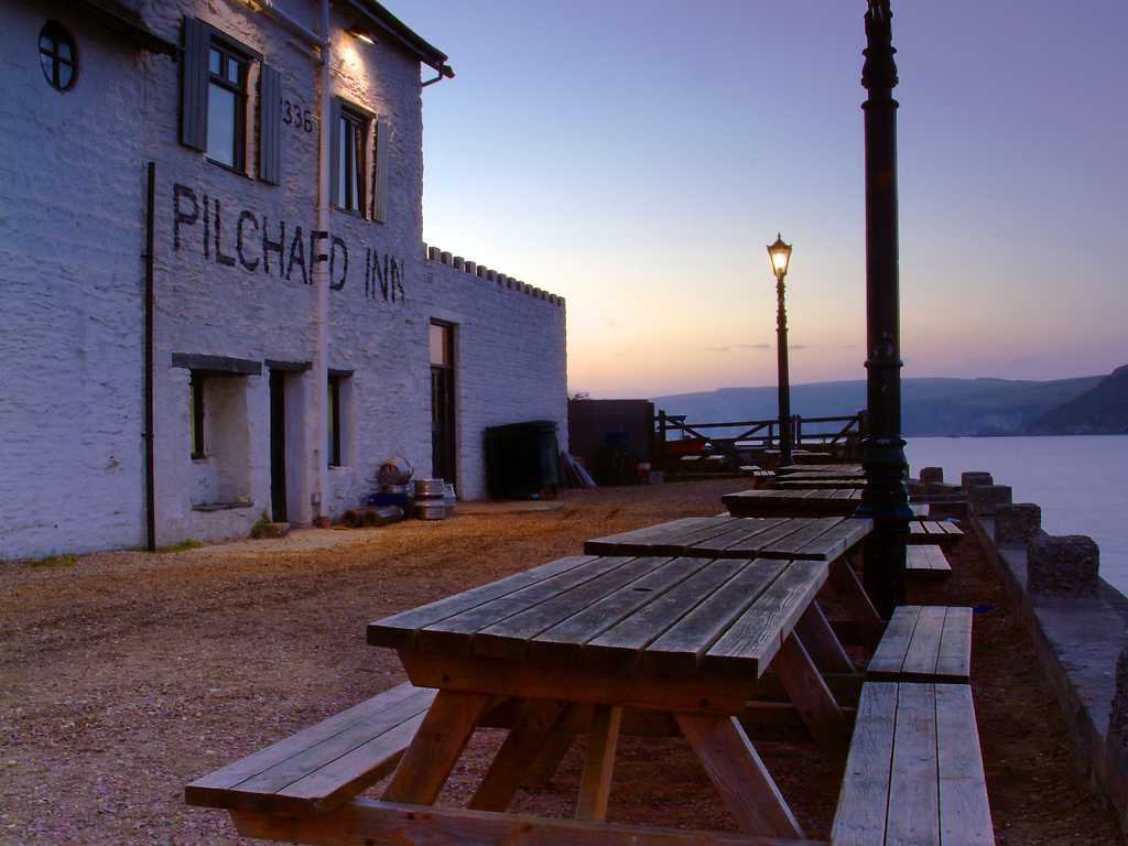 The Pilchard Inn restaurant, Burgh Island Hotel