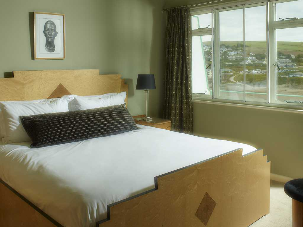 Grand Suite room, Burgh Island Hotel
