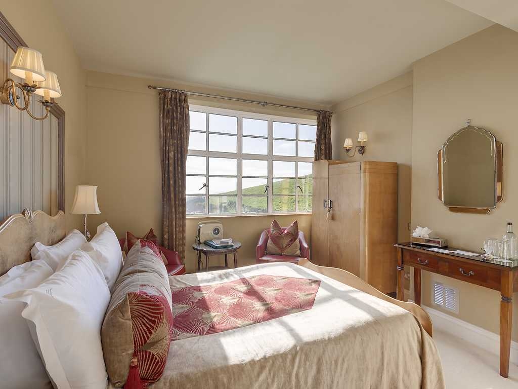 Double room, Burgh Island Hotel