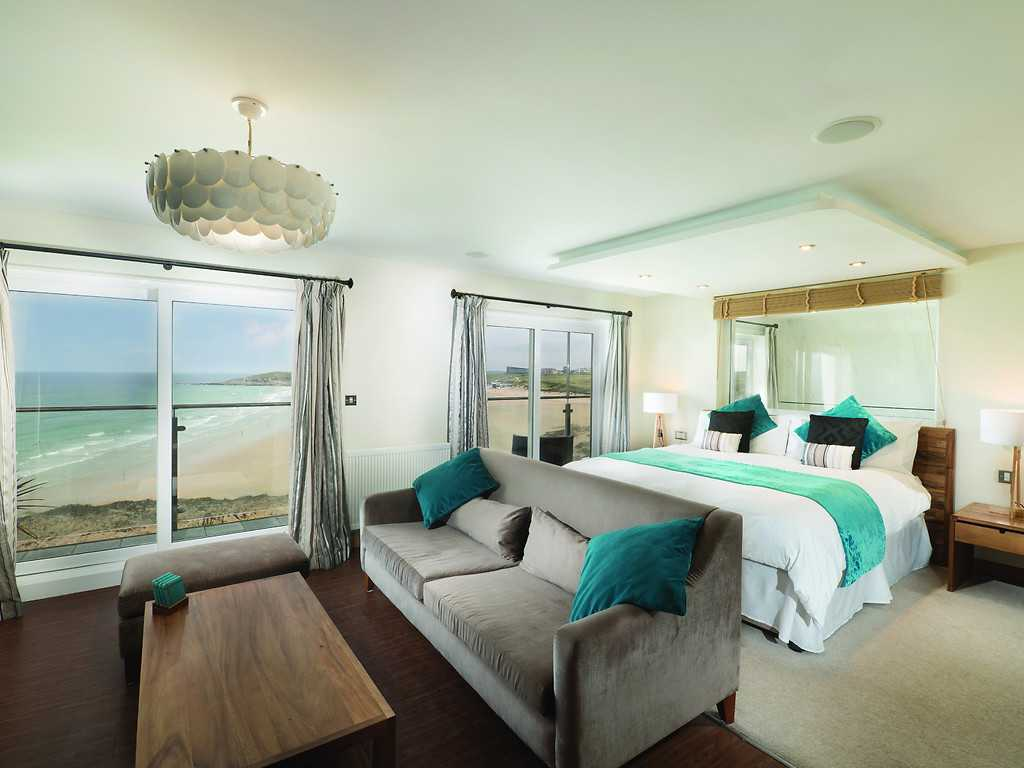 Suite room, Fistral Beach Hotel and Spa