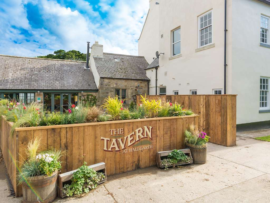 The Tavern restaurant, Hallgarth Manor Hotel