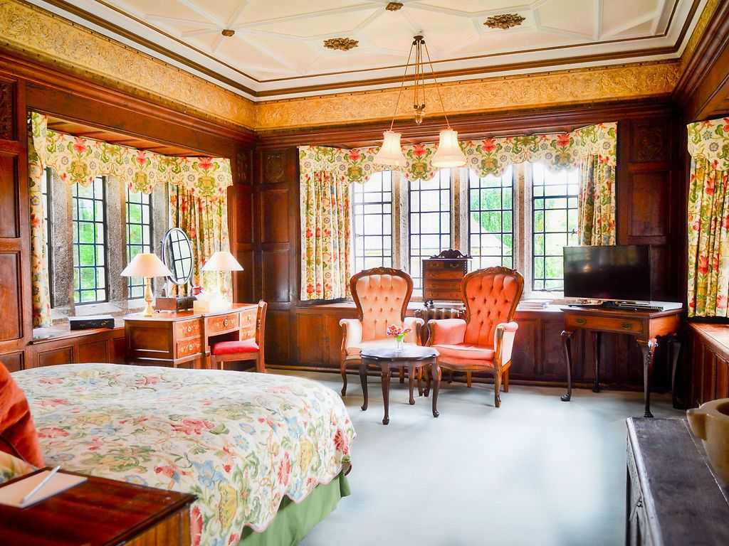 Gallery room, Lewtrenchard Manor