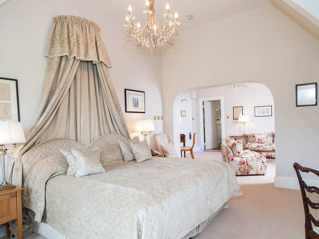 Suite room, Llangoed Hall Hotel