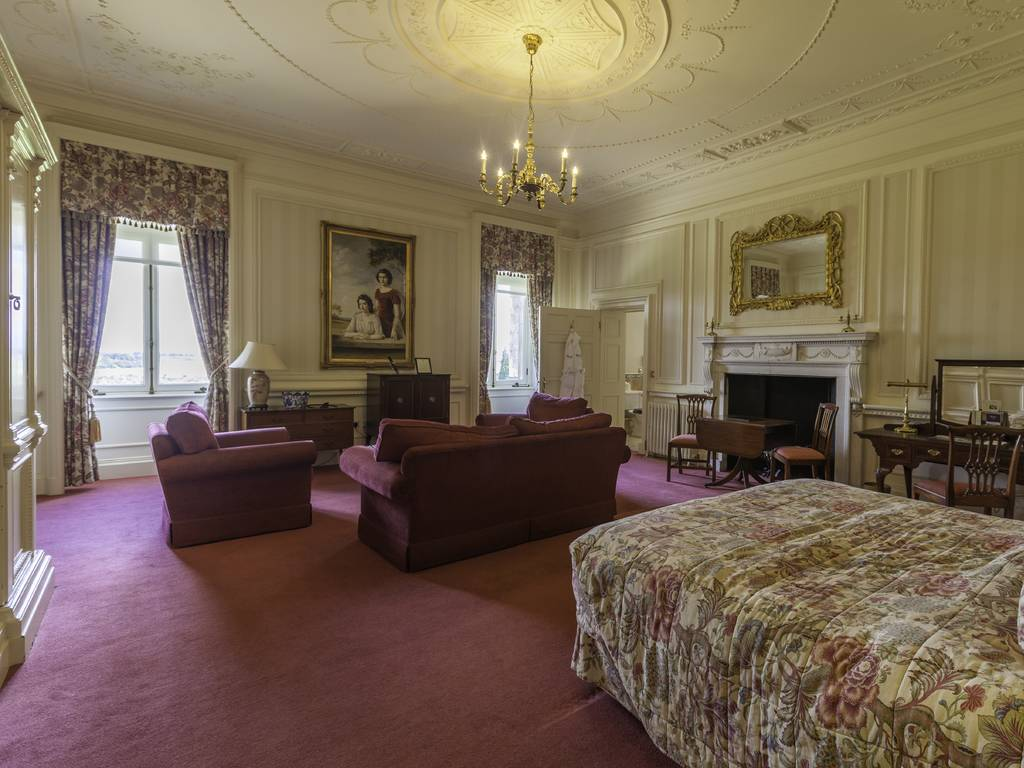 Mansion Master room, Luton Hoo Hotel, Golf & Spa