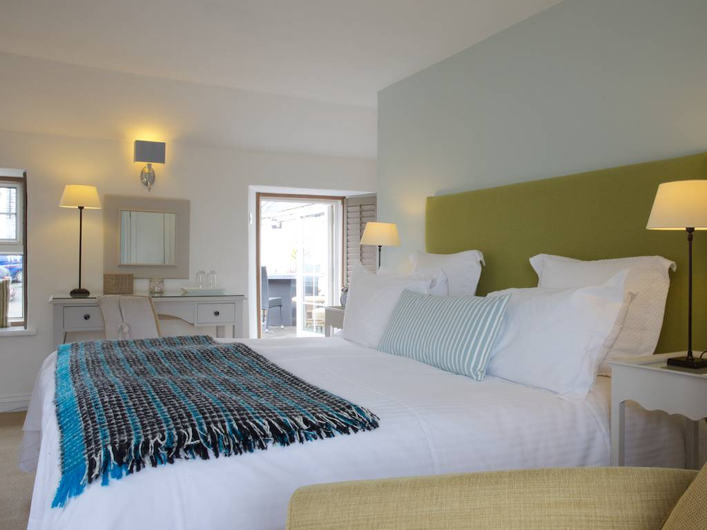 Deluxe room, Lugger Hotel