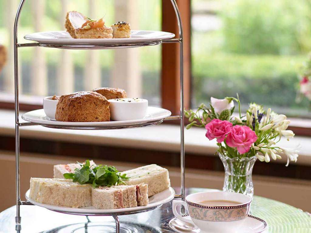 Afternoon Tea - served in the Lounge restaurant, The Montagu Arms