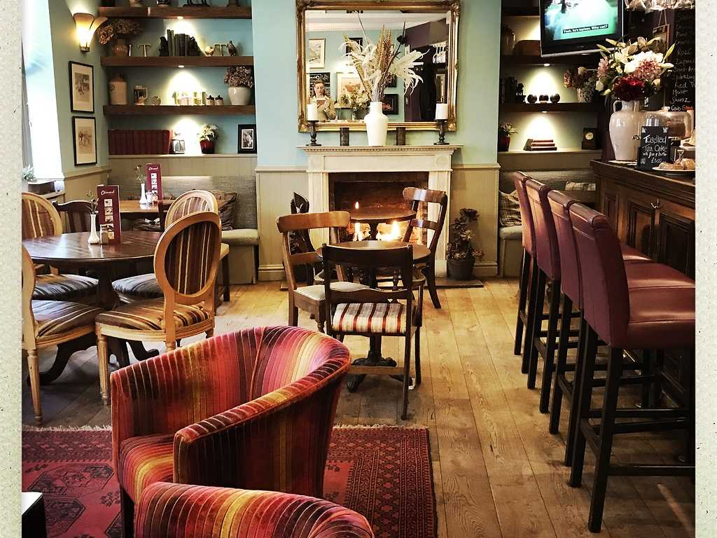 Hotel Bar restaurant, The Ormond at Tetbury