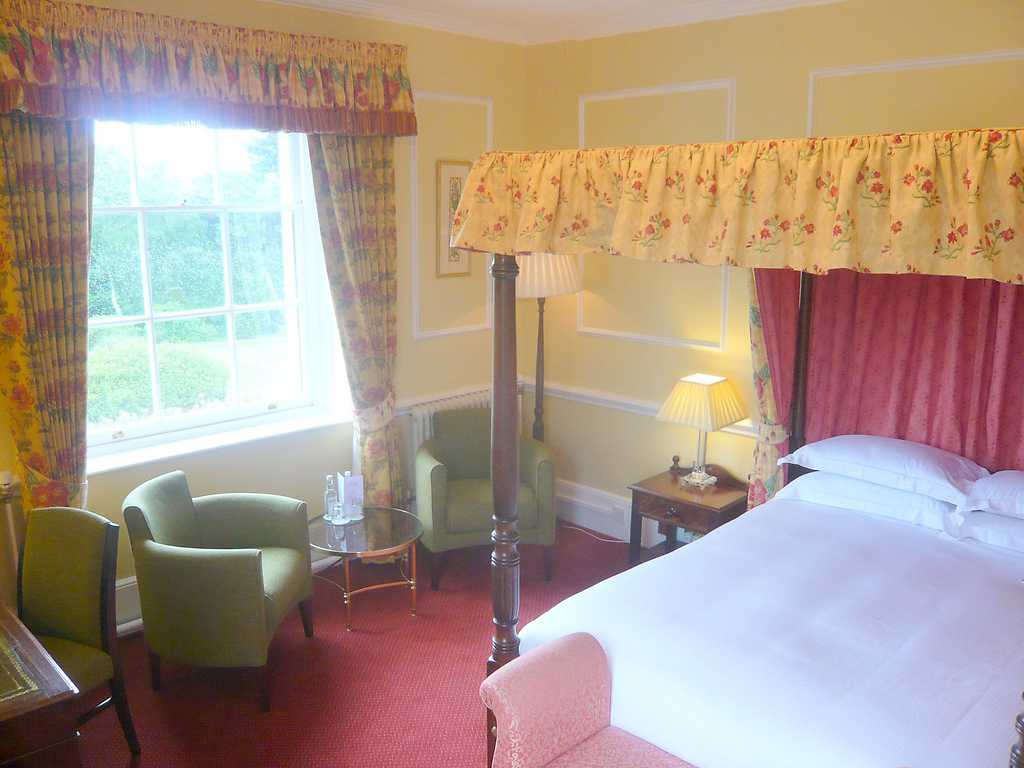 Luxury room, West Lodge Park Hotel